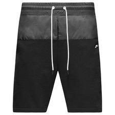 nike shorts nsw modern ft - black - shorts