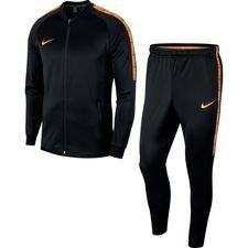Nike Trainingspak Dry Squad Knit Fast AF - Zwart/Oranje