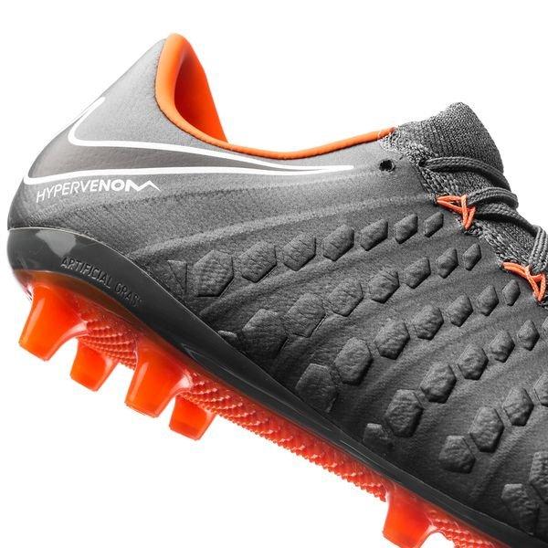 Nike Hyper Venin Fantôme Trois Ag D'élite Pro Rapide Au Large - Gris / Orange / Blanc o2sEzBGHy