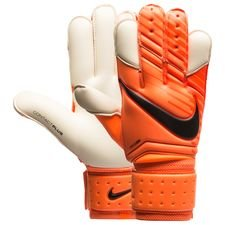 nike goalkeeper gloves vapor grip 3 fast af - total orange/white/black - goalkeeper gloves