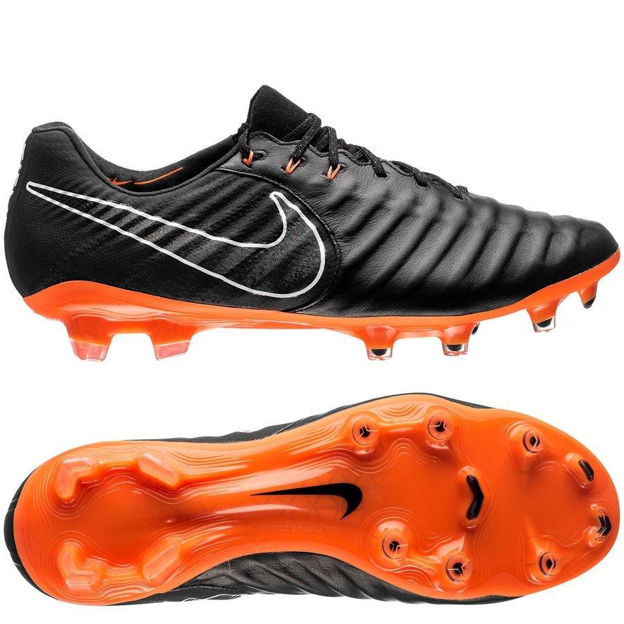 Nike Tiempo Legend 7 Elite FG Fast AF - Black Total Orange White ... c8cbe72b9eb6f