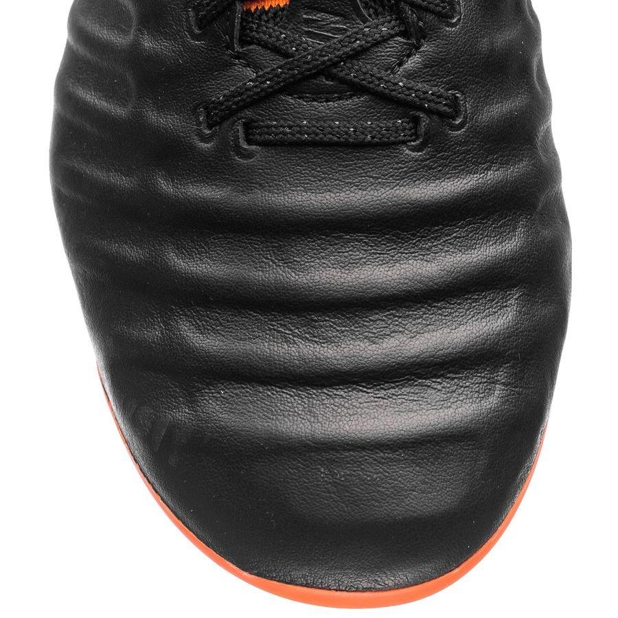 Nike Tiempo Legend 7 Elite FG Fast AF SvartOrangeVit
