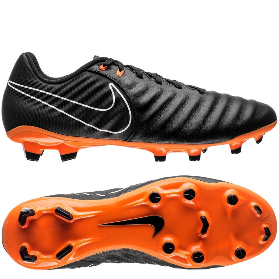 063bdce5f32 Nike Tiempo Legend 7 Academy FG Fast AF - Black Total Orange White ...