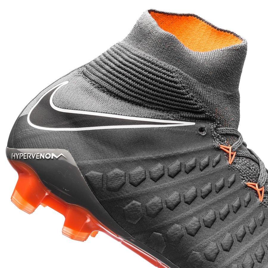 a15a16d00 Nike Hypervenom Phantom 3 Elite DF FG Fast AF - Dark Grey/Total Orange/White    www.unisportstore.com