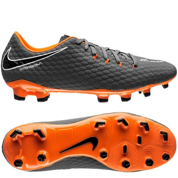 save off 45eb1 7f69d Nike Hypervenom Phantom 3 Academy FG Fast AF - Dark Grey ...