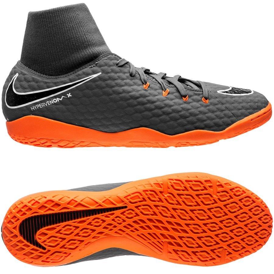 Nike Venin Hyper Phantomx 3 Académie Ic Regarderfast - Gris / Orange / Blanc 8RJFG