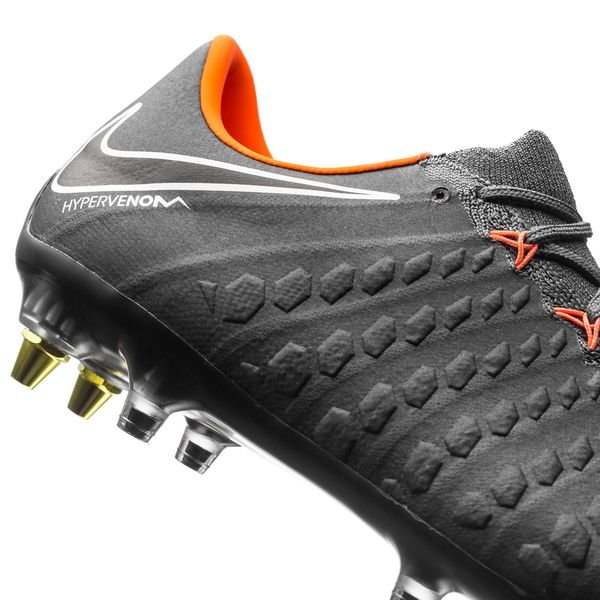Nike Hyper Venin Fantôme Trois Élite Sg-pro Anti-saboterie Regarderfast - Gris / Orange / Blanc tLZvaP