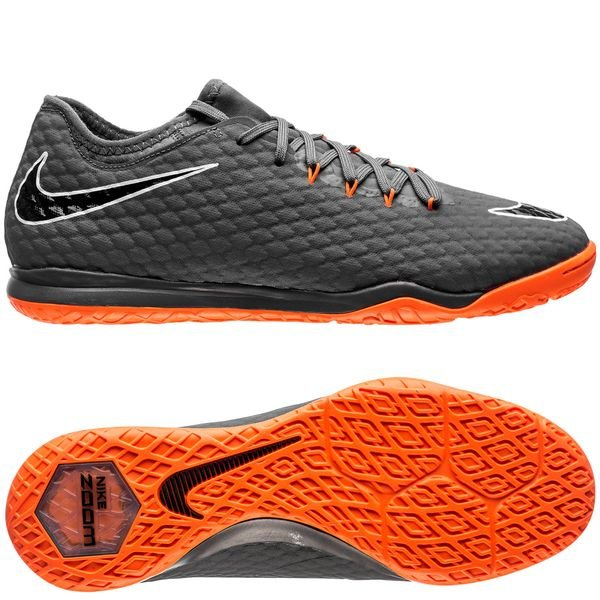 434df67b3d7b Nike Hypervenom PhantomX 3 Pro IC Fast AF - Dark Grey Total Orange White