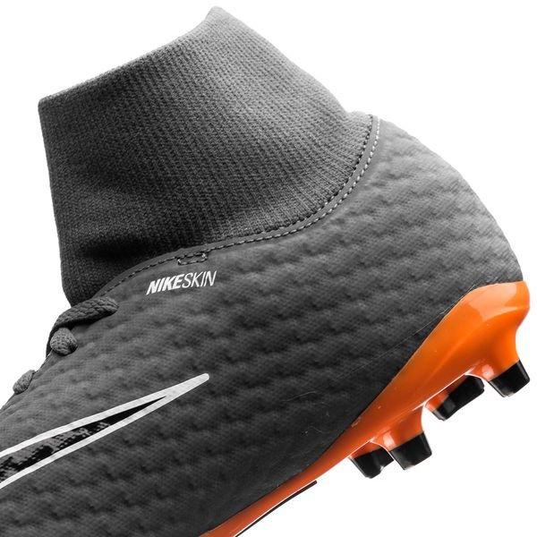 fc5fa45f4 Nike Hypervenom Phantom 3 Academy DF FG Fast AF - Dark Grey Total Orange