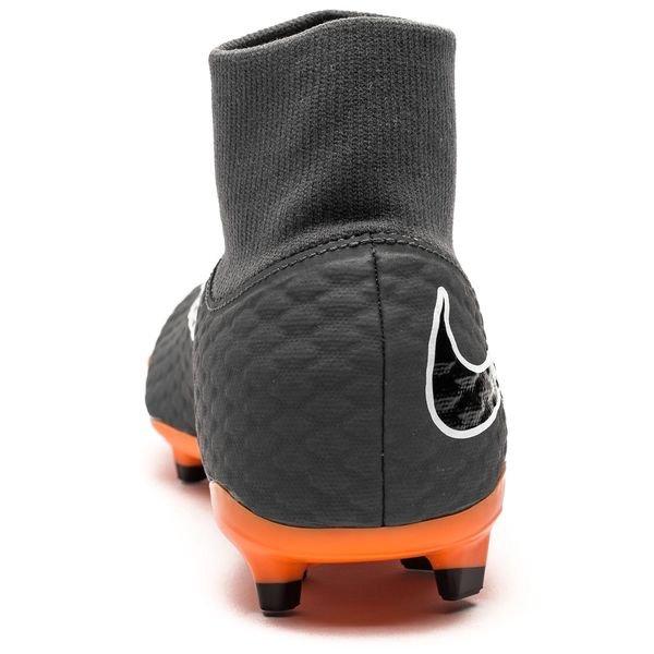 87d887912af Nike Hypervenom Phantom 3 Academy DF FG Fast AF - Dark Grey Total Orange