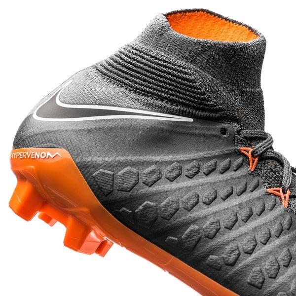Fantôme De Venin Nike Hyper Elite 3 Df Fg Éteint Rapidement - Gris / Orange / Blanc gBBZMd
