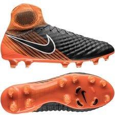Nike Magista Obra 2 Elite DF FG Fast AF - Grijs/Zwart/Oranje