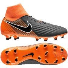 Nike Magista Obra 2 Academy DF FG Fast AF - Grijs/Zwart/Oranje
