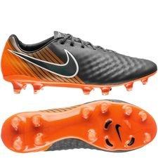 Nike Magista Obra 2 Elite FG Fast AF - Grijs/Zwart/Oranje