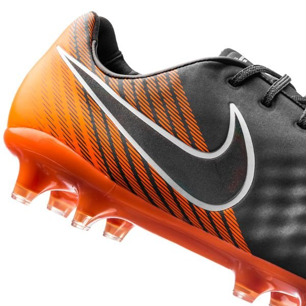 5be8f1c924a20 Nike Magista Obra 2 Elite FG Fast AF - Dark Grey Black Total Orange ...