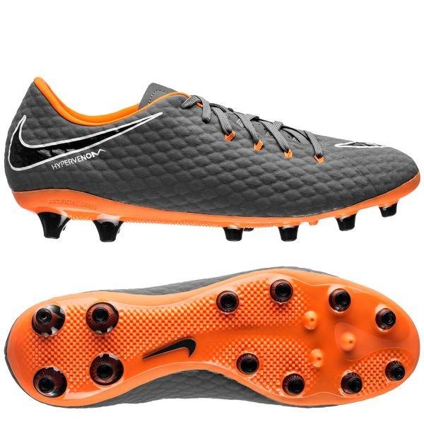 imágenes oficiales que buen look venta de bajo precio Nike Hypervenom Phantom 3 Academy AG-PRO Fast AF - Dark Grey/Total  Orange/White