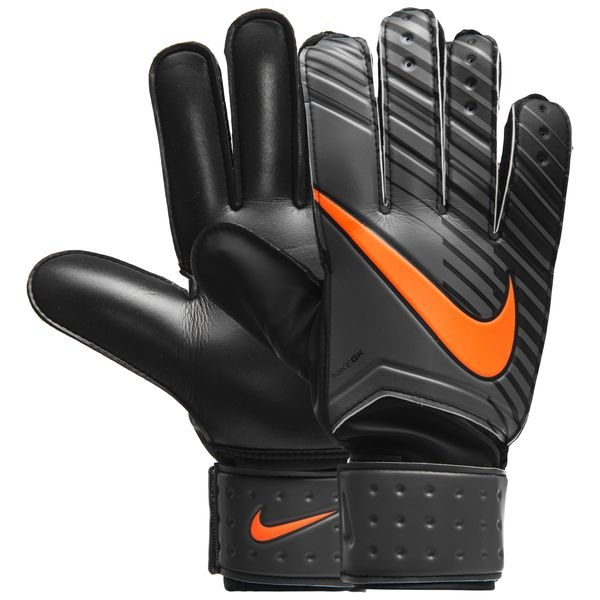 nike gants de gardien match fast af gris noir orange. Black Bedroom Furniture Sets. Home Design Ideas