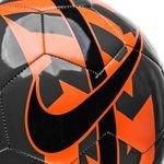 nike fußball react - grau/orange/schwarz - fußbälle