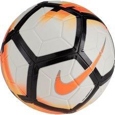 Image of   Nike Fodbold Strike - Hvid/Orange/Sort