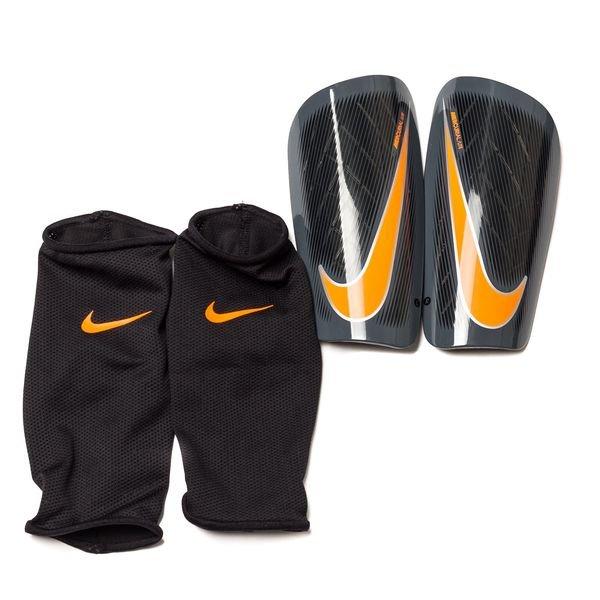 e064dc5897c Nike Protège-Tibias Mercurial Lite Fast AF - Gris Noir Orange 0