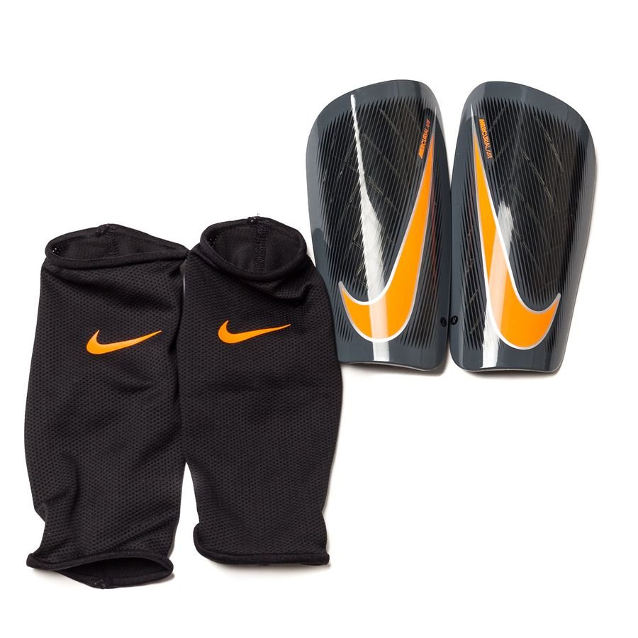 Nike Protège-Tibias Mercurial Lite Fast AF - Gris/Noir/Orange