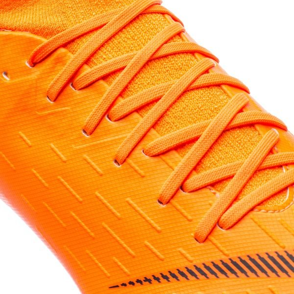 ... nike mercurial superfly 6 pro fg fast af - total orange/black/volt ...