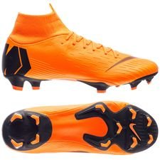 Nike Mercurial Superfly 6 Pro FG Fast AF - Orange/Svart/Neon