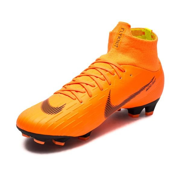 9f0014355268 Nike Mercurial Superfly 6 Pro FG Fast AF - Total Orange Black Volt