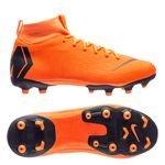 Nike Mercurial Superfly 6 Academy MG Fast AF - Orange/Noir/Jaune Fluo Enfant