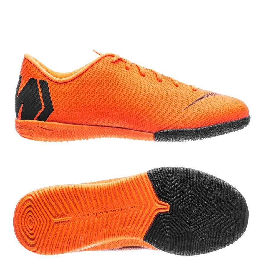 e47b08b2d03 nike mercurial vaporx 12 academy ic fast af - oranje/zwart/neon kinderen ...