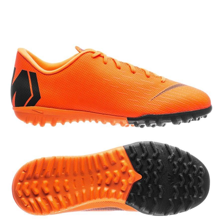hot sale online 0c217 8a011 nike mercurial vaporx 12 academy tf fast af - orange/schwarz/neon kinder ...