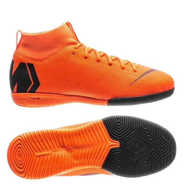 online retailer 0596b 4e494 Nike Mercurial Superfly 6 Academy IC Fast AF - Orange Svart Neon