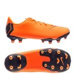 Nike Mercurial Vapor 12 Academy MG - Orange/Noir Jaune Fluo Enfant