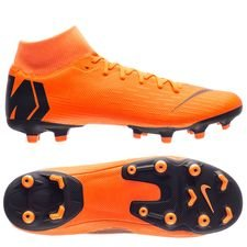 nike mercurial superfly 6 academy mg fast af - total orange/black/volt - football boots