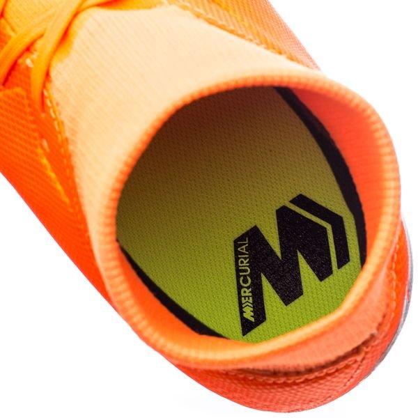 Nike Mercurial Superfly 6 Mg Academy Rapide Au Large - Orange / Noir / Néon 6ieW9E