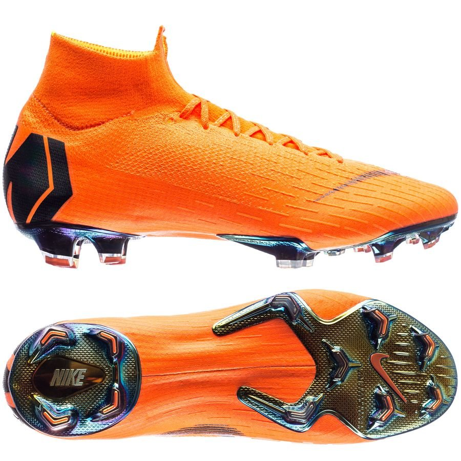 Nike Mercurial Superfly 6 Elite FG Fast AF - Orange/Noir/Jaune Fluo LIMITED STOCK