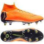 Nike Mercurial Superfly 6 Elite SG-PRO Anti-Clog Fast AF - Orange/Noir/Jaune Fluo