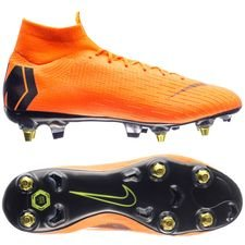 Nike Mercurial Superfly 6 Elite SG-PRO Anti-Clog Fast AF - Oransje/Sort/Neon