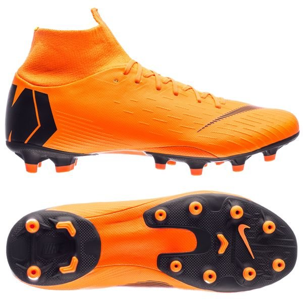 Nike Mercurial Superfly 6 Pro AG-Pro - Orange/Sort/Neon