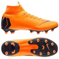 nike mercurial superfly 6 pro ag-pro fast af - total orange/black/volt - football boots