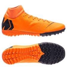 Nike Mercurial SuperflyX 6 Academy TF Fast AF - Oranje/Zwart/Neon