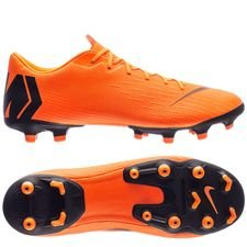 nike mercurial vapor 12 academy mg fast af - orange/sort/neon - fodboldstøvler