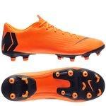 Nike Mercurial Vapor 12 Academy MG Fast AF - Orange/Noir/Jaune Fluo