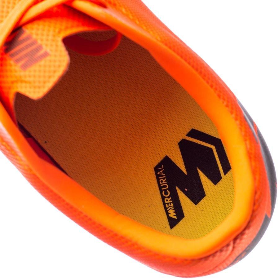 Nike Mercurial Vapor 12 Mg Academy Rapide Au Large - Orange / Noir / Néon YeyZvR