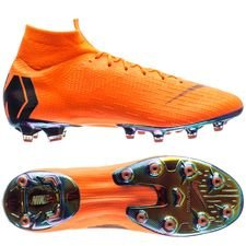 Nike Mercurial Superfly 6 Elite AG-PRO Fast AF - Orange/Svart/Neon