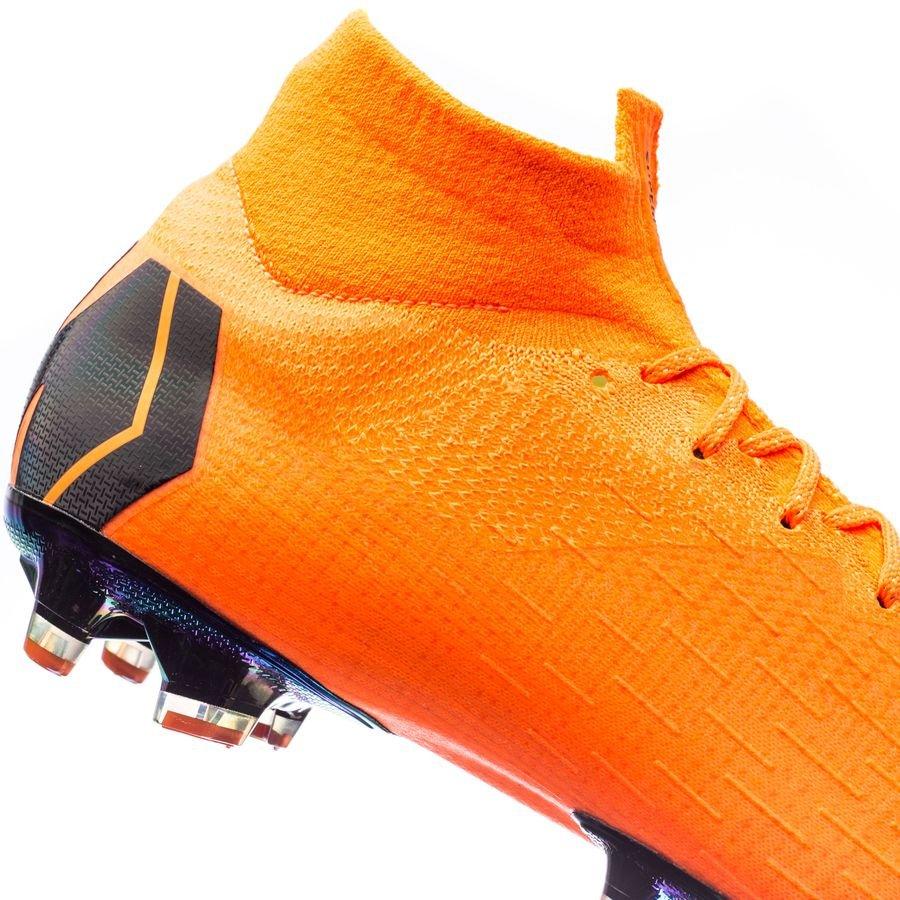 Nike Mercurial Superfly 6 Elite AG PRO Fast AF OrangeSvartNeon
