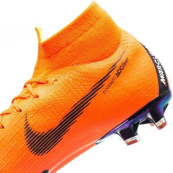 9202d6643ae Nike Mercurial Superfly 6 Elite AG-PRO Fast AF - Oranje/Zwart/Neon ...