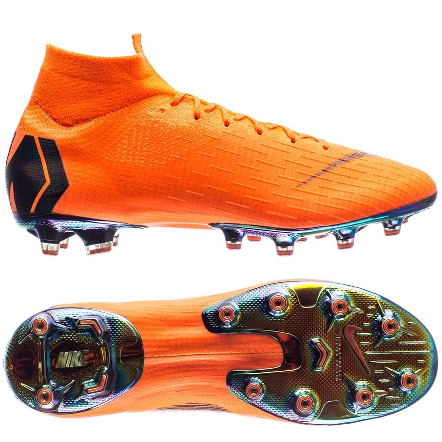 Nike Mercurial Superfly Fg 6 Pro Rapide Au Large - Noir / Orange / Blanc vLtNXD