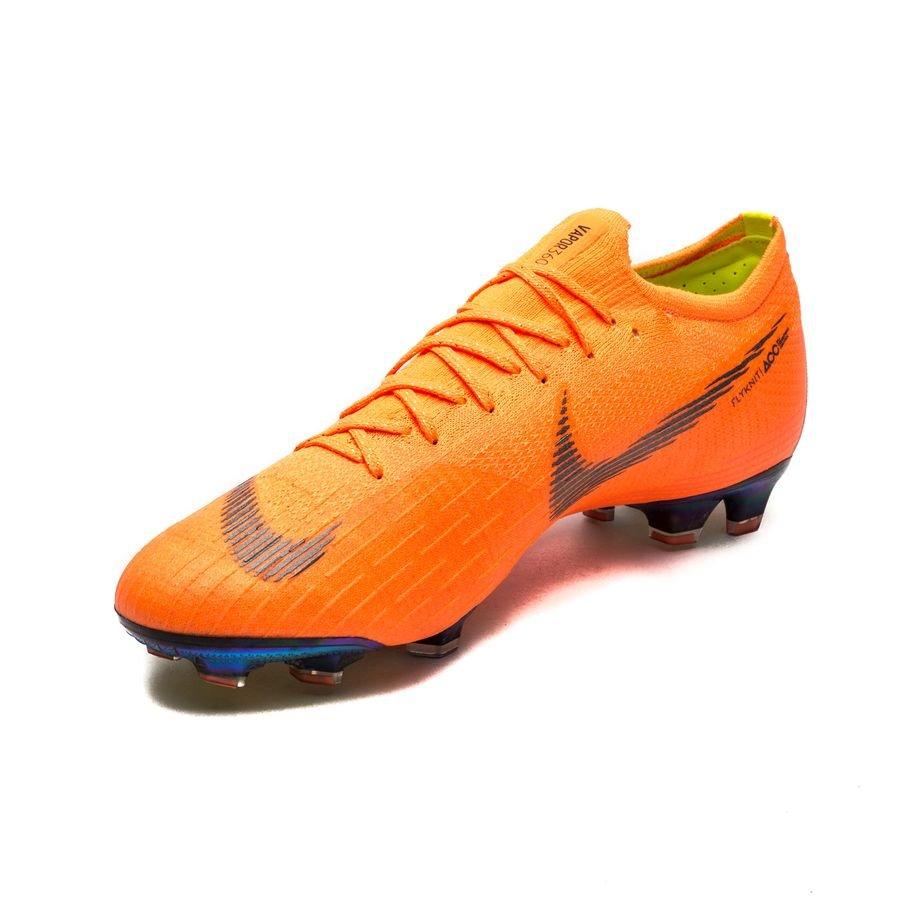 807821167 Nike Mercurial Vapor 12 Elite FG Fast AF - Total Orange Black Volt LIMITED  STOCK