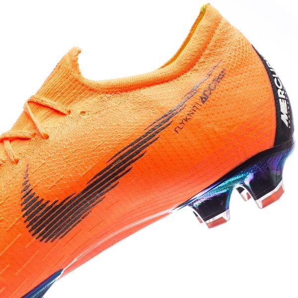 Nike Mercurial Vapor 12 Élite Fg Rapide Au Large - Orange / Noir / Néon Stock Limité poo43